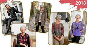 Aktive Kvinder i Vrå bag modeshow