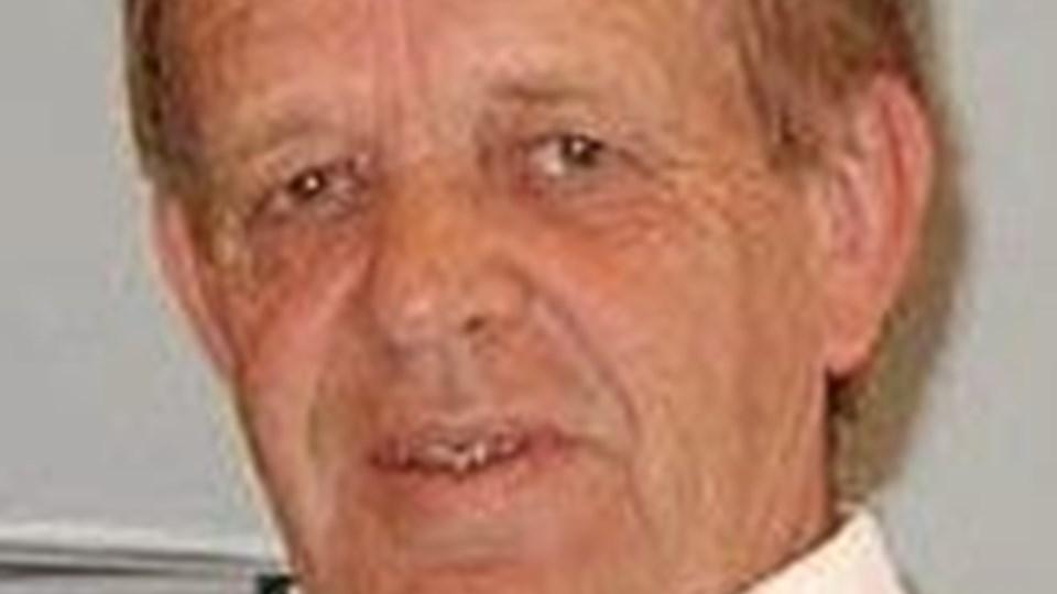 Direktør Erik Andersen - stopper nu efter 50 år på virksomheden.