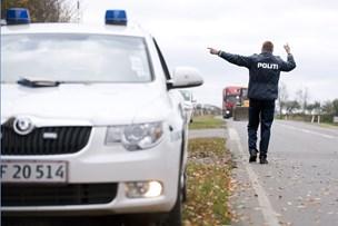 Lastbil væltede: Ny Nibevej var spærret i timevis