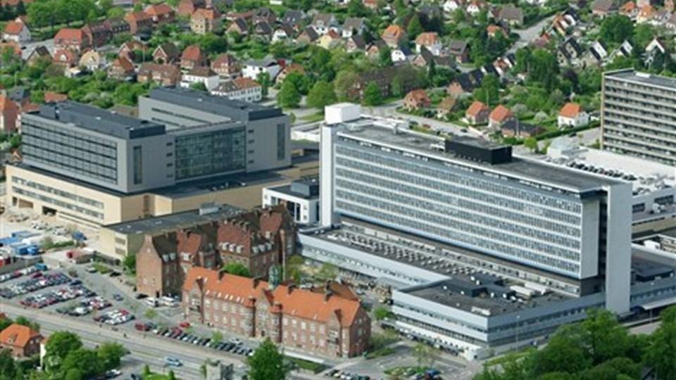 Skadestuen på Aalborg Sygehus Syd har ofte brug for politiets hjælp, når patienter går amok. Arkivfoto: Michael Koch