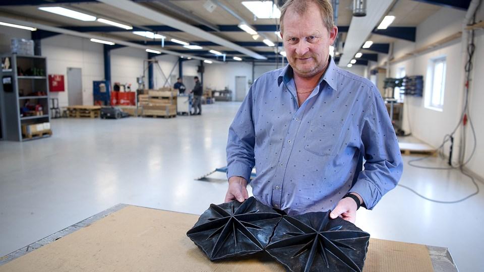 Medejer i Wintex Cover, som i dag hedder JT Cover, Torben Vinther, er glad for at Sø- og Handelsretten har frifundet dem for at krænke Hexa Covers patent.Foto: Peter Mørk