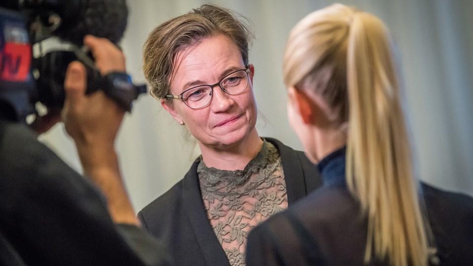 Venstres kommuneforening i Aalborg skal nu tage stilling til, hvem der skal efterfølge Tina French Nielsen som politisk leder. Arkivfoto: Martin Damgård