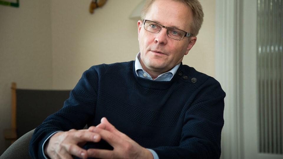 Hans Ejner Bertelsen (V), borgmester i Morsø Kommune, ærgrer sig over, at det ikke lykkedes at få del i de statslige arbejdspladser denne gang. Arkivfoto: Bo Lehm