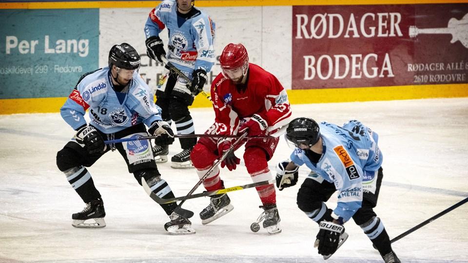 Sønderjyske trak det længste strå med et lynmål i overtid mod Rødovre Mighty Bulls.