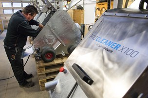 Robotten klarer svineriet i svinestalden