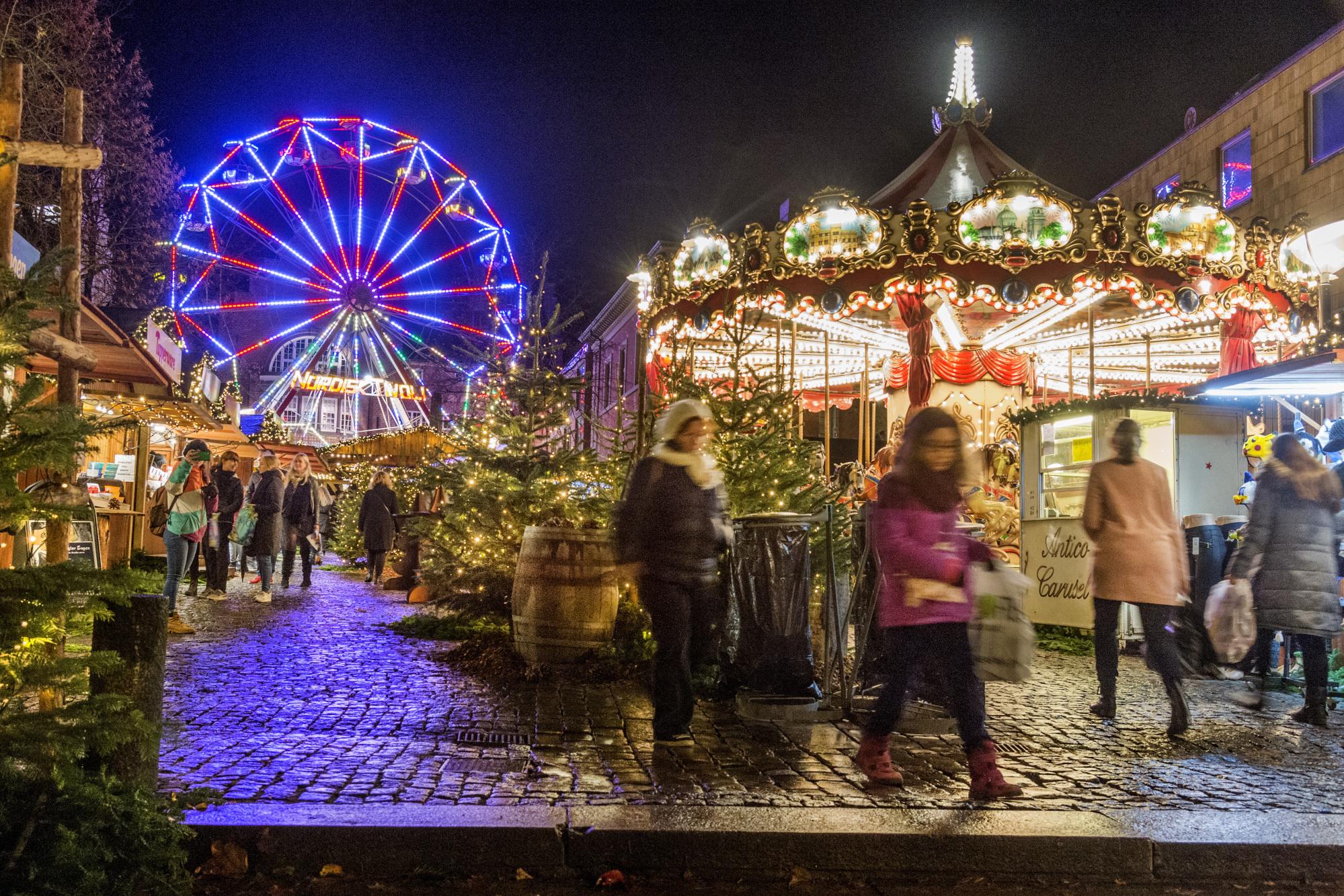 Julemarkedet på Gammeltorv vender tilbage med både velkendte og nye boder. Arkivfoto: Torben Hansen