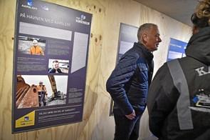 Info-center blev åbnet for besøgende