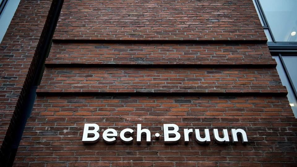 Advokatfirmaet Bech-Bruun rådgav i 2014 den tyske North Channel Bank om amerikanske pensionsfonde og dansk udbytteskat.   (ARKIV)