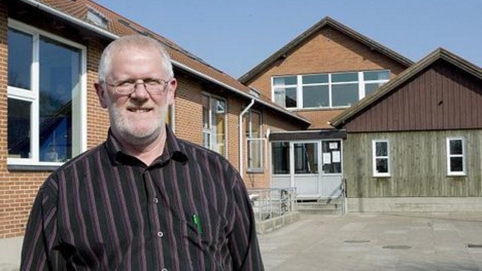 asger hald kom til Vester Hornum Skole som viceinspektør i 2001. Nu tager han fire-fem år som skoleleder. Foto: Grete Dahl