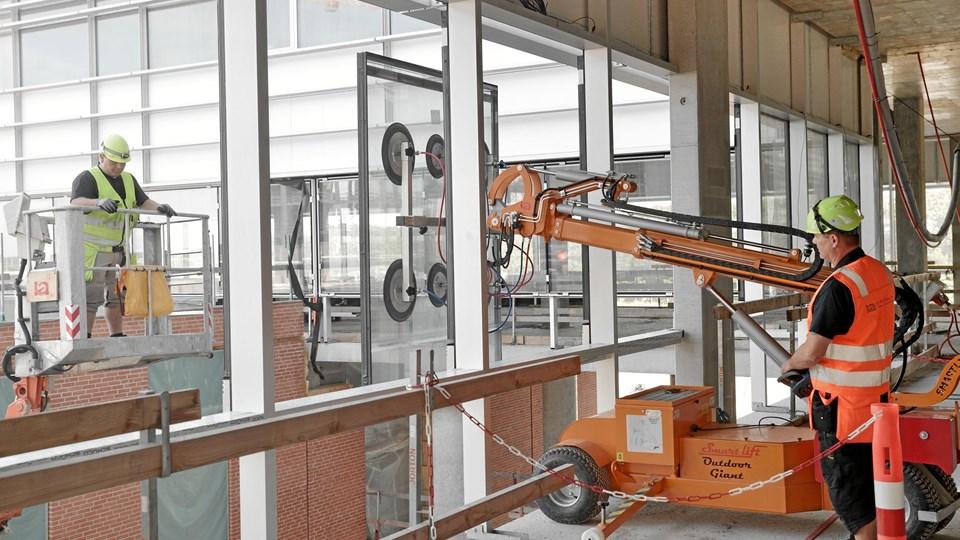 Smart-Lifts produkt anvendes blandt andet til montage af vinduer. Privat foto