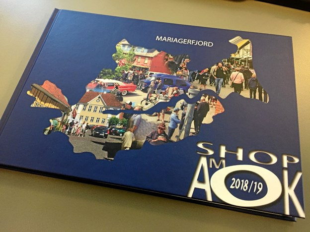 Shop Amok Bogen 2018/19. Privatfoto