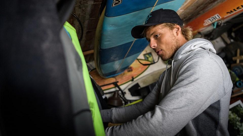 Oliver Hartkopp går efter en ny sejr. Fremtidsdrømmene byder bl.a. på VM og OL i 2020.