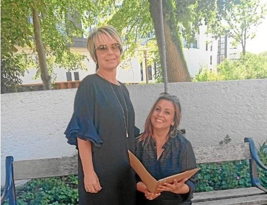 Sanne Godtliebsen fra House står sammen med Rikke Ejsenhardt fra Hjørring Handel og Henrik Konnerup fra Sparevent i spidsen for planlægningen af showet.