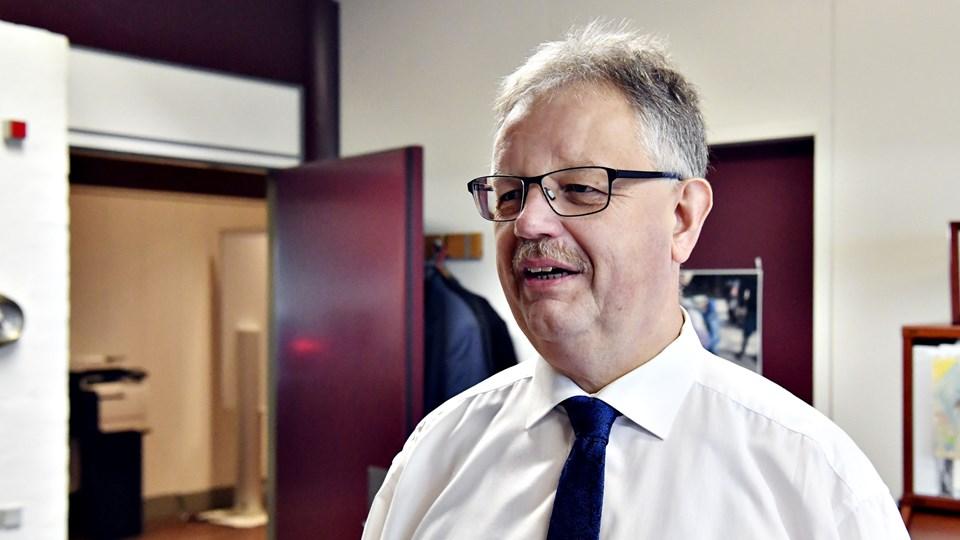 Borgemester Mogens Christen Gade skal have nye hofter. Foto: Kurt Bering