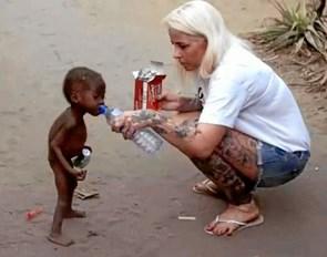 Om nødhjælp i Afrika i Skive