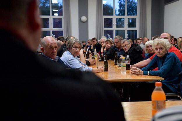Veddum Sal er igen ramme om et borgermøde, hvor bestyrelsen i Dagli'Brugsen Veddum orienterer om, hvad den har arbejdet med siden sidste borgermøde 3. oktober (billedet). Arkivfoto: Jesper Thomasen