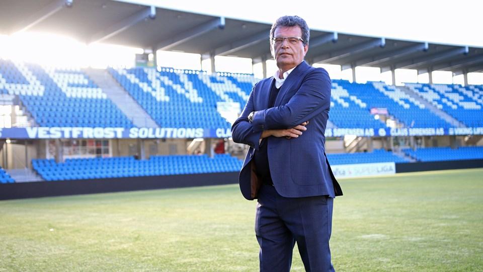 Ted van Leeuwen stopper som sportsdirektør for Esbjerg. Foto: Foto: Esbjerg Fb/Free