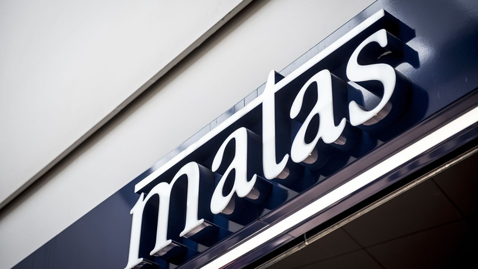Matas solgte for på 876 millioner kroner, hvilket er en stigning på knap fire procent over det seneste år. (Arkivfoto)