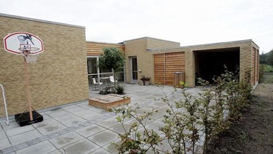Gårdhaver har haft væsentlig indflydelse på husets udformning.