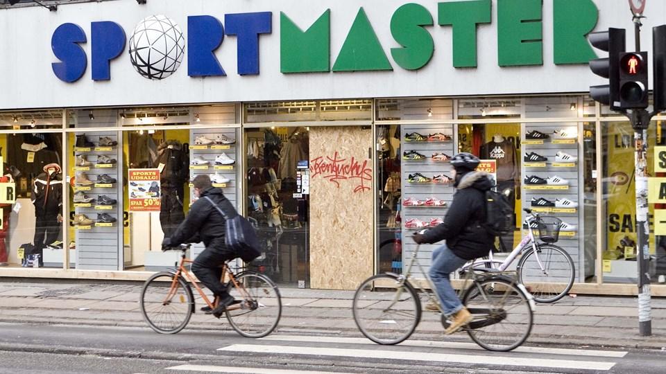 Sportskæden Sportmaster kundeklub har flere end en million medlemmer i Danmark. I de kommende dage vil mange af dem få en mail med oplysninger om nye betingelser i forbindelse med EU's dataforordning, der træder i kraft 25. maj. Foto: Keld Navntoft/Ritzau Scanpix