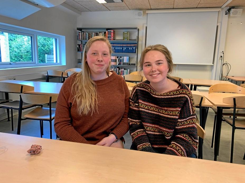 Elever fra Hjørring Gymnasium på Talentakademi