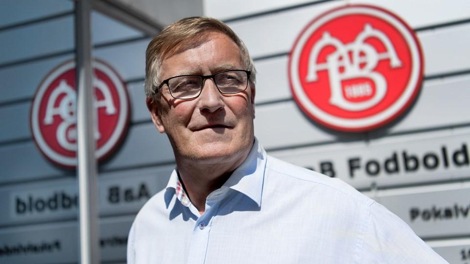 AaB-formand Torben Fristrup. Foto: Torben Hansen