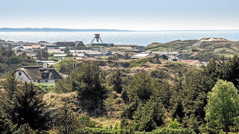 Der er færre sommerhuse til salg i Nordjylland.  Foto: Henrik Bo