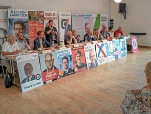 Vælgermøde i Classic på Klitgården i Tversted