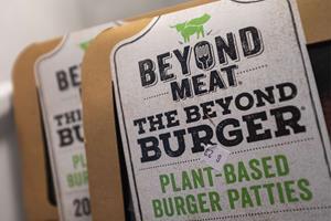 Firma bag veganer-burger melder om eksplosiv salgsvækst