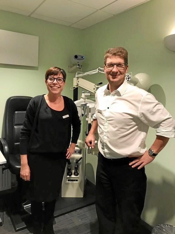 Ny optiker med 17 års erfaring i branchen