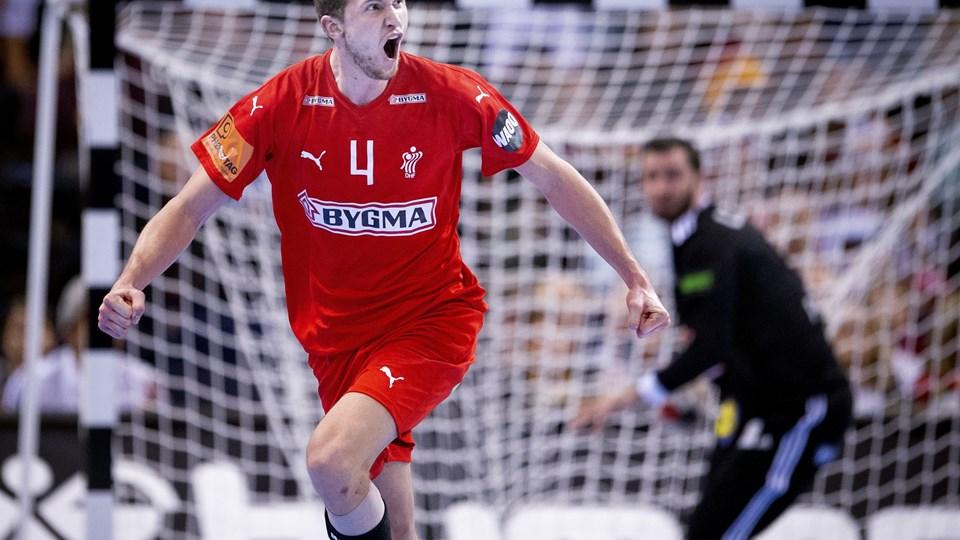 Magnus Landin er helt klar til at spille VM-finale på søndag trods småproblemer med en lægmuskel.