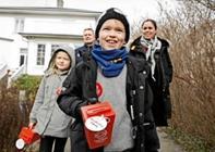 Nødhjælp indsamling i hele storpastoratet