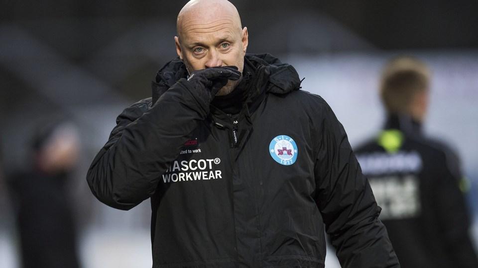 Silkeborgs cheftræner, Peter Sørensen, har været ude med kritik af Superligaens struktur. En sådan kritik er ikke velkommen. Foto: Scanpix/Bo Amstrup