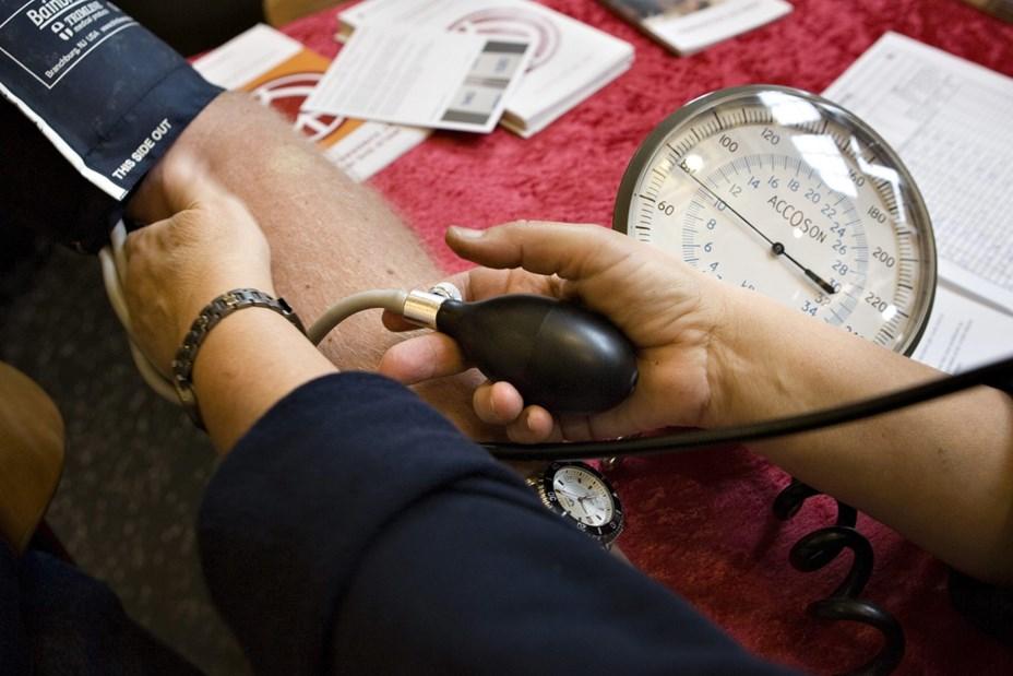 Få målt blodtrykket kvit og frit