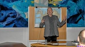 Folkeuniversitetet indbød til foredrag om Island