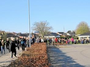 Se billederne: Skoleløb i Terndrup for lungesyge børn