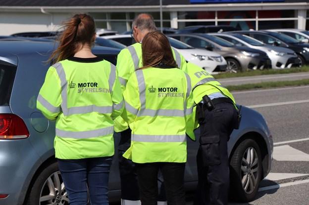 Kontrolaktion i Nordjylland: Tre ud af fire bilister får bøde