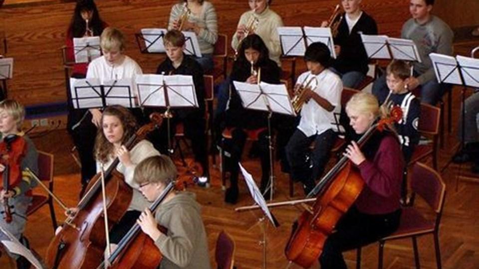 Tre klassiske orkestre indtager i weekenden Vesthimmerlands gymnasium. PRIVATFOTO