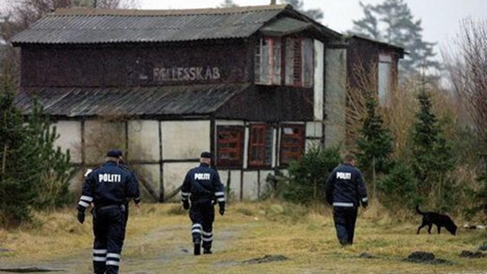Frøstruplejren er hyppigt for mål politiets hashkontroller. Arkivfoto: Klaus Madsen