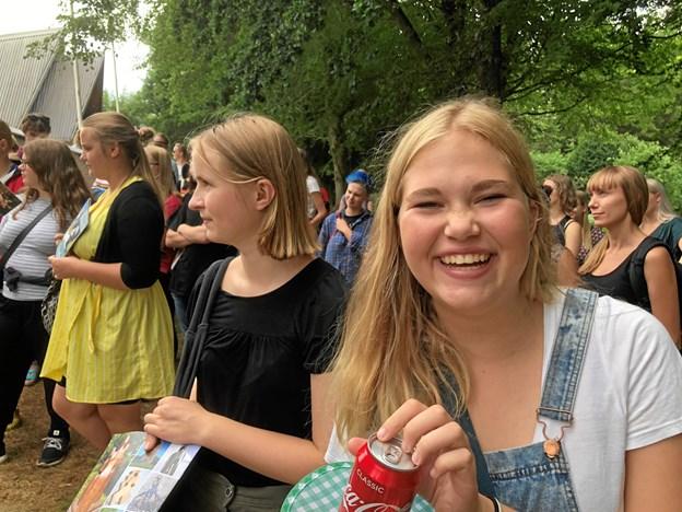Forfatterskolens elever nød turen, hvor der også var tid til snak, hygge og sjov. Privatfoto