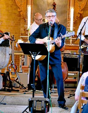 Koncert med Cash musik i Lendum Kirke