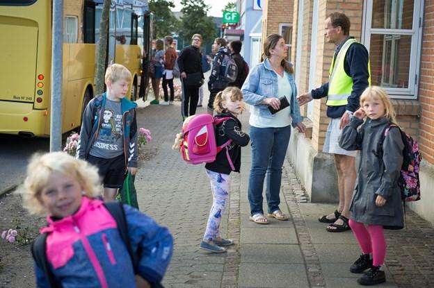 Børn ventede forgæves: NT-bus kørte efter forkert køreplan