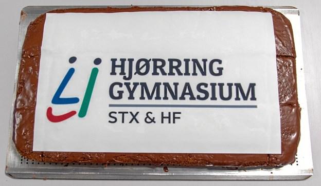 """Hjørring Gymnasium har fået nyt navn og hedder nu """"HJØRRING GYMNASIUM/STX & HF.Privatfoto."""
