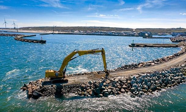 Hanstholm Havn inviterer til åben byggeplads