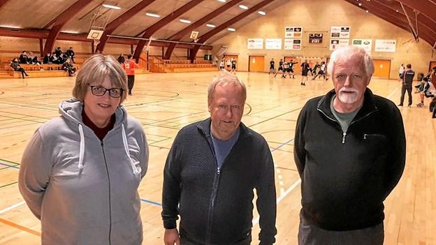 Anette Christensen, Ole Hansen og Søren Toft. Foto: Karl Erik Hansen