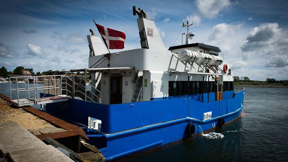 """""""Bertha K"""" må udsætte sin sæsondebut som Limfjordsbus."""