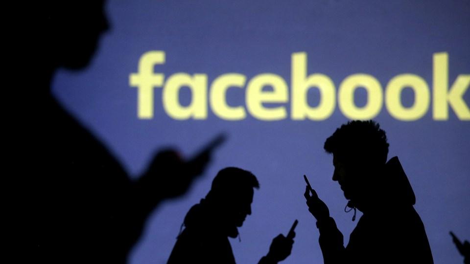 Facebook skønner, at 41.820 danskere ufrivilligt kan have fået deres data videregivet til analyseselskabet Cambridge Analytica. Foto: Reuters/Dado Ruvic