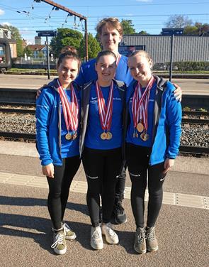 Flot resultat til Hobro-svømmere: hev DM-guld hjem