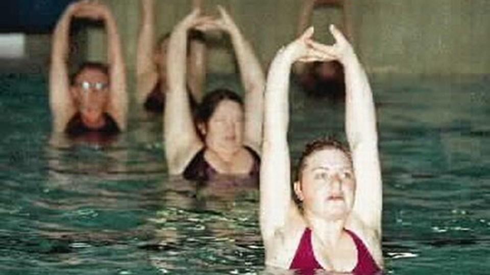 Svømmeklubben Sømærket har bl.a. vandaerobic på programmet. ARKIVFOTO