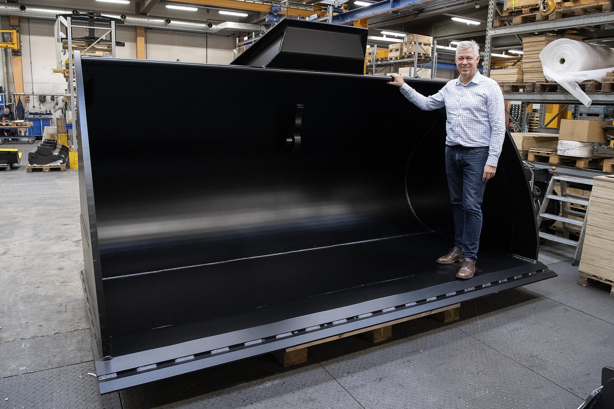 Nordjysk maskinfabrik har fået skovlen under langvarig nedtur